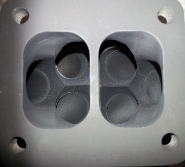 6Boost Split Flange Manifold