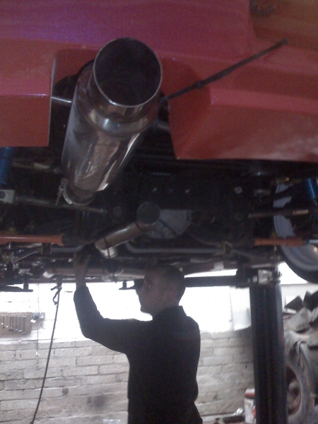 Powermax Engineering Ltd - Services (Exhaust Fabrication)