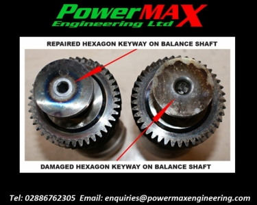Balance Shaft Repair - SERVICE EXCHANGE