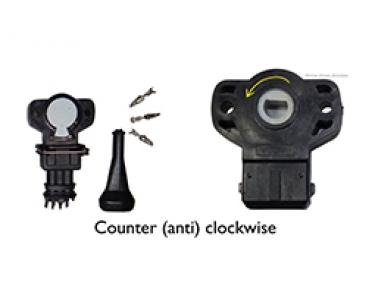 Throttle Position Sensor (TPSCCW)